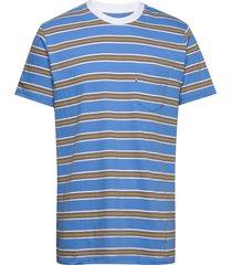 summer stripe troll t-shirts short-sleeved blå mads nørgaard