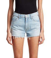 easy does it denim shorts