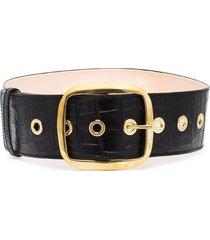 black & brown imogen large belt