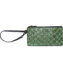 bolsa feminina mini pouch - verde