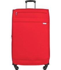 """maleta de viaje mediana naples 25"""" rojo - explora"""
