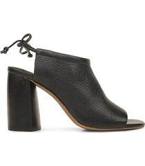 legend leather tie-back sandals