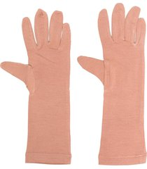 styland mid-length gloves - neutrals