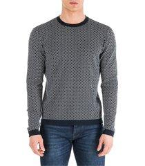 maglione maglia uomo girocollo