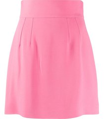 dolce & gabbana high-waisted short skirt - pink
