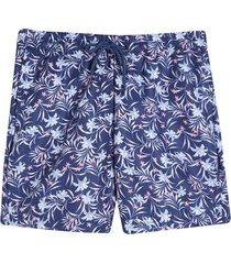 pantaloneta de baño flores