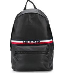 tommy hilfiger urban pu backpack - black