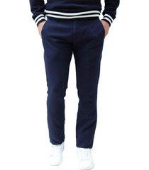 pantalón casual azul color7 fulton