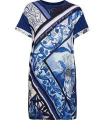 vest solimar dresses t-shirt dresses blå desigual