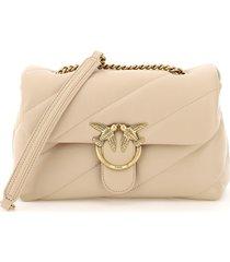pinko love classic puff maxi quilt bag 2