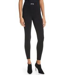 women's rta sibille ankle leggings, size x-small - black