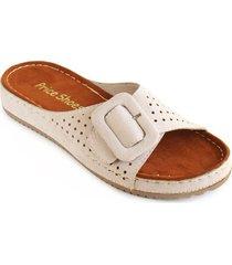 priceshoes sandalia confort dama 162402hielo