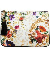fairy godmother small canvas clutch