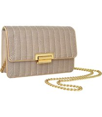 whiting & davis sydney quilted clutch -
