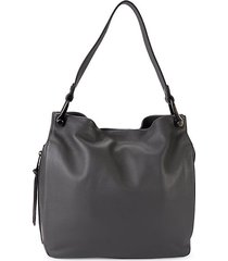 clem pebbled leather hobo bag