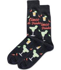 hot sox men's cinco crew socks