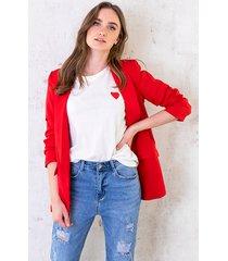 limited blazer rood
