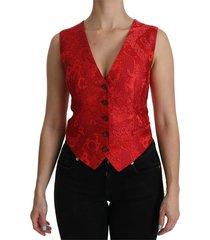 mouwloos vest blouse