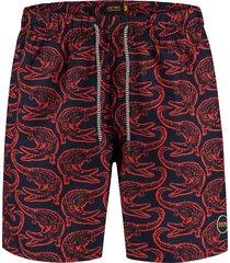 shiwi heren zwembroek alligator - rood