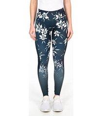 calça legging energia natural geométrica cintura alta feminina