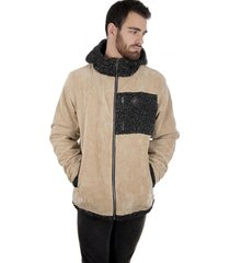 chaqueta corduroy outsider beige hombre