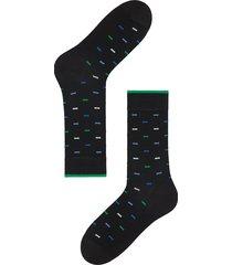 calzedonia - lisle thread ankle socks, one size, black, men