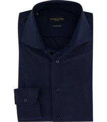 donkerblauw overhemd ml 7 cavallaro