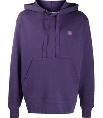 face hoodie, electric purple