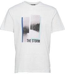 onspasmal life reg ss mu tee t-shirts short-sleeved vit only & sons