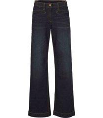 jeans larghi in cotone con cinta comoda (blu) - bpc bonprix collection