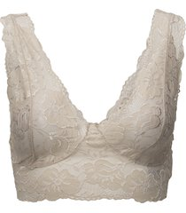 glaze top lingerie bras & tops bralette and corset creme cream