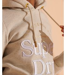 superdry women's established hoodie