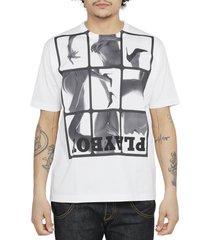 junya watanabe x playboy white t-shirt