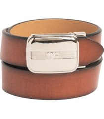 tommy hilfiger big boys flex comfort stretch belt with th monogram plaque buckle