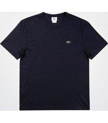 camiseta lacoste gola v masculina