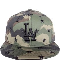 gorra new era los angeles dodgers 9fifty - camuflada