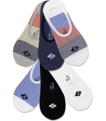 sperry men's 6-pk. assorted signature liner socks