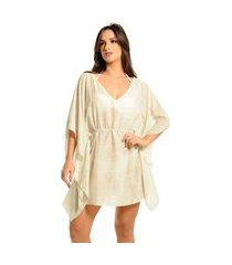 kaftan curto mos beachwear estampado stephanie portal off white