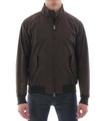 baracuta g9 harrington jacket - chocolate 0001-711