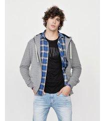 campera gris laundry jeans charlie parker