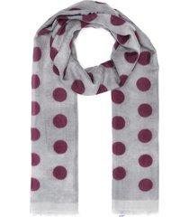 dolce vita polka dot cashmere scarf