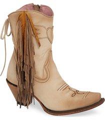 women's lane boots x junk gypsy fringe western bootie