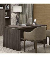 mesa para escritório secretária office 2011 3120 carvalho - kappesberg