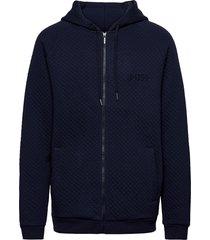 contemp. jacket h. hoodie blå boss