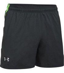 pantaloneta para hombre under armour-gris/verde-verde