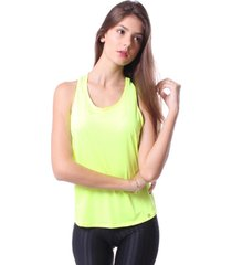 blusa simony lingerie regata aerosport euforia neon verde