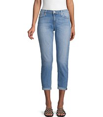 super-skinny crop jeans
