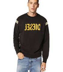 sweater s radio sweat shirt negro diesel