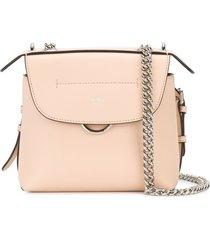 fendi mini back to school backpack - pink