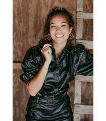 femme9 blouse zwart britt